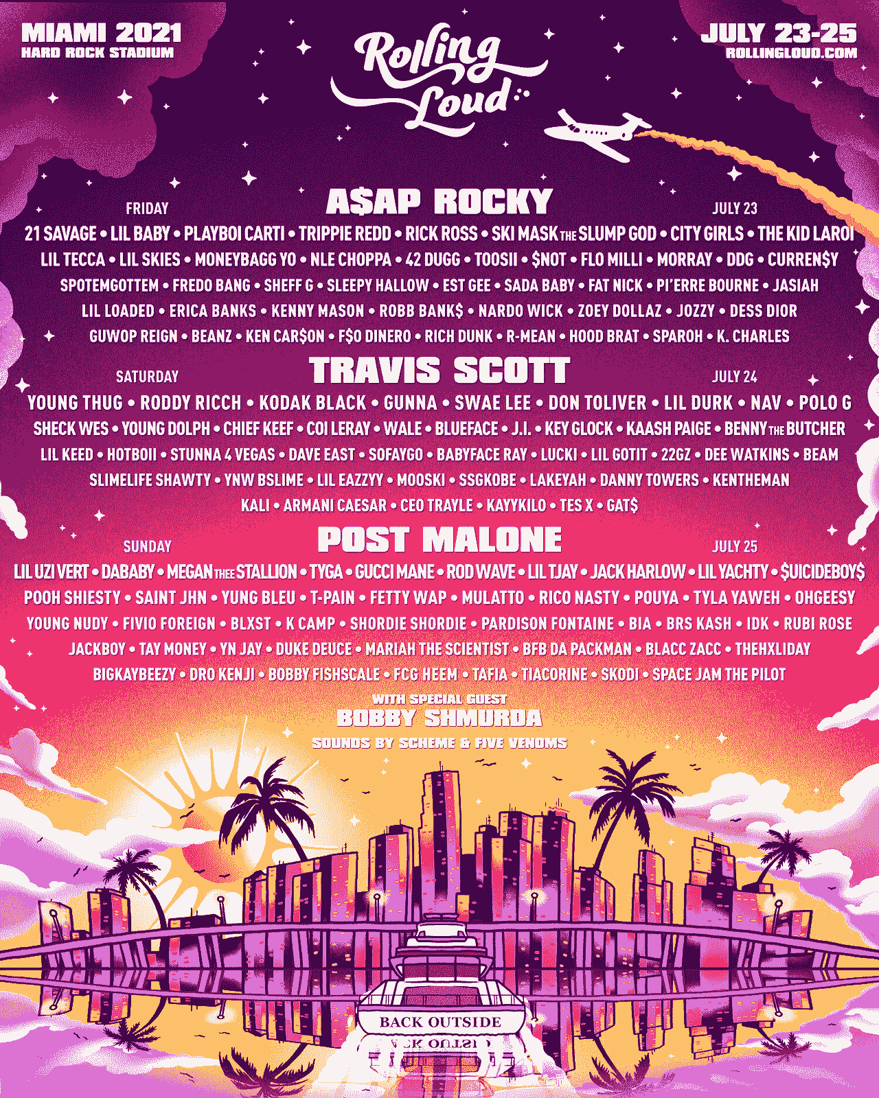 Rolling Loud Music Festival Tickets VIP Packages